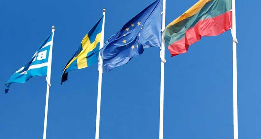 Kuo skiriasi stiklo pluošto vėliavų stiebai nuo aliumininių?